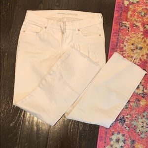 Old navy flare white jeans